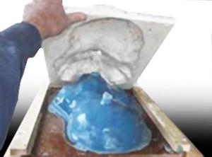 Moulage de plastique simple